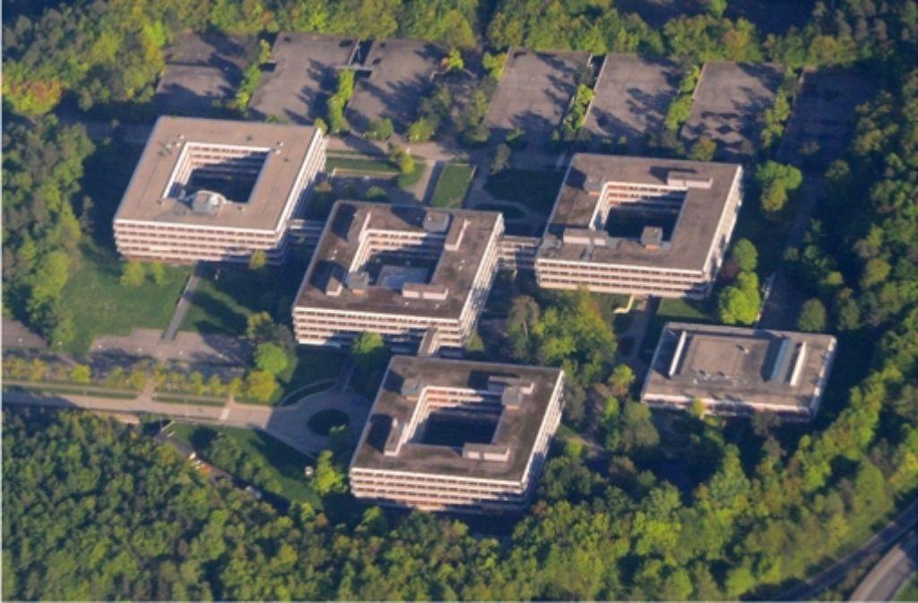 Das Gelände der ehemaligen IBM-Zentrale in Stuttgart-Vaihingen war lange ein Problemkind. In der Fotostrecke zeigen wir Eindrücke vom Eiermann-Areal. Foto: dpa