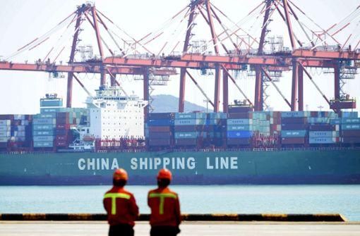 """China droht den USA mit Gegenwehr """"um jeden Preis"""""""