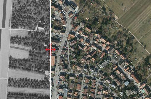 Als das Dorf noch eine Straße war