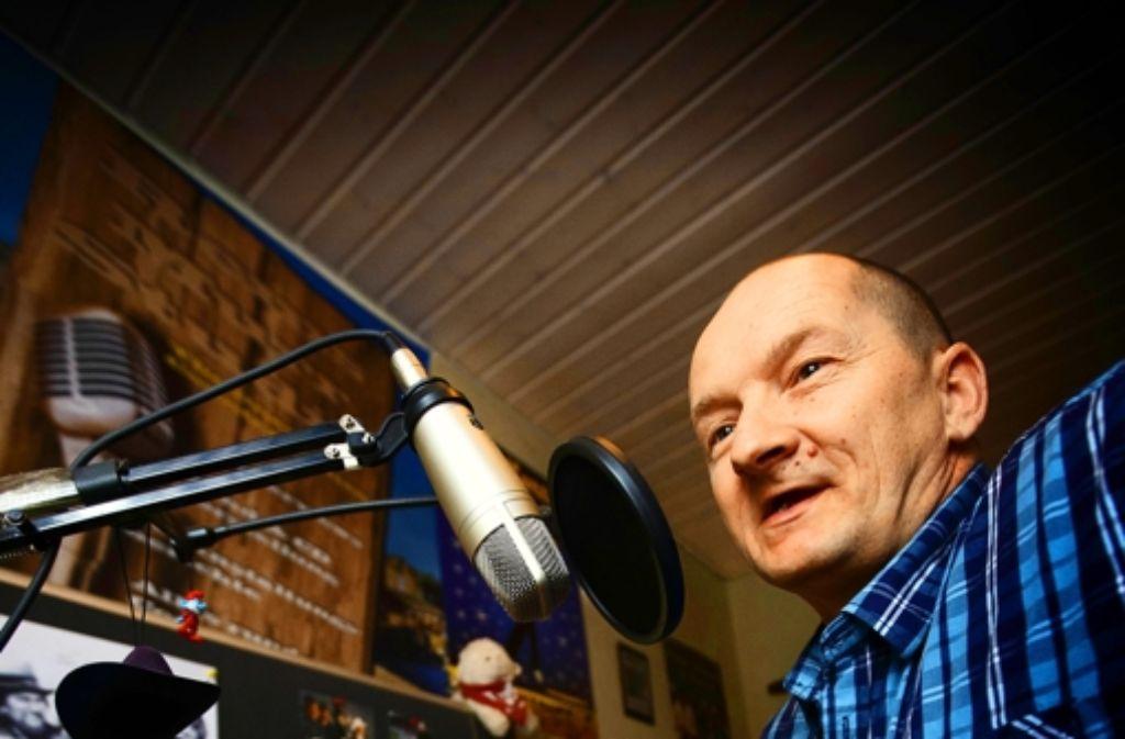 Andreas Fölsche alias Radio-Andy sendet immer sonntags. Foto: Gottfried Stoppel