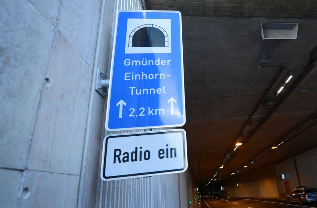 Am Einhorntunnel sind monatelang Radarfallen falsch eingestellt gewesen. Foto: dpa