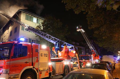 Dachstuhl von Wohnhaus fängt Feuer – 100.000 Euro Schaden