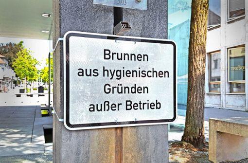 Brunnen wegen Bakterien außer Betrieb