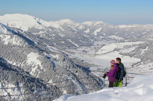 Winterzauber im Tannheimer Tal.