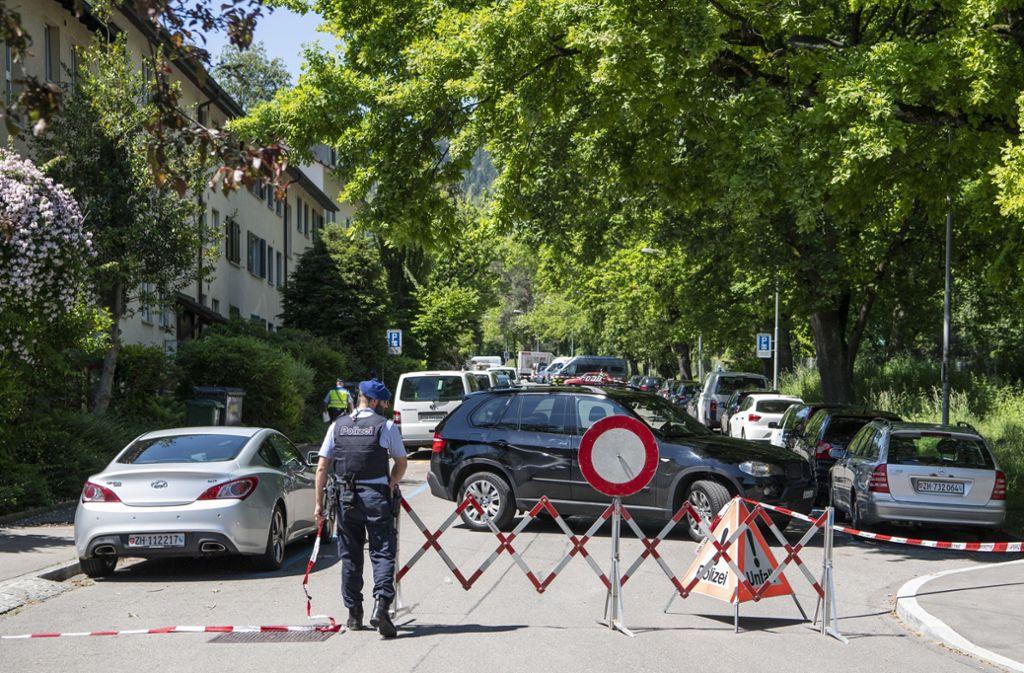 Bei einer Geiselnahme in Zürich sind zwei Menschen gestorben. Foto: dpa