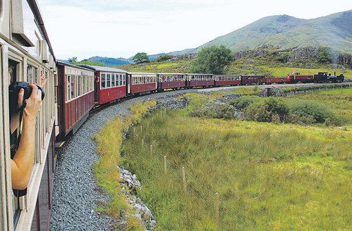 Croeso i Gymru (Bahnfahren in Wales)