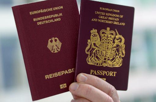 Mehr Briten sind eingebürgert