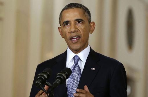 Barack Obama zu Auftritt erwartet