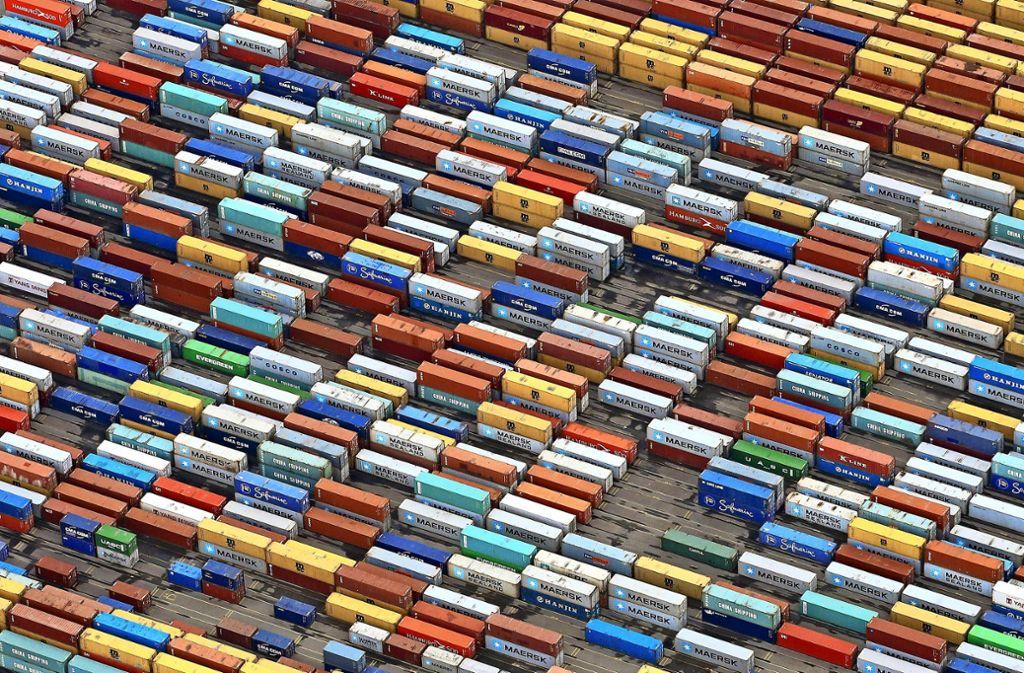 Die exportabhängige deutsche Wirtschaft leidet unter dem Handelsstreit. Foto: dpa