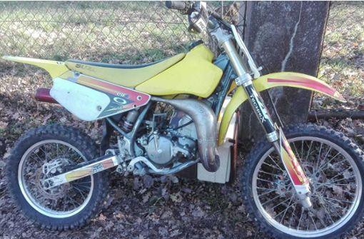 Wem gehört dieses Motorrad?