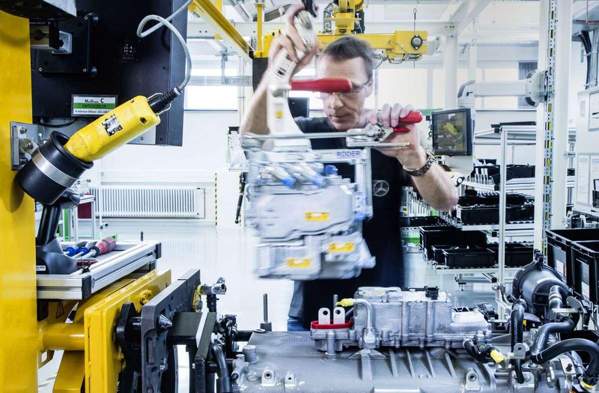 Die Brennstoffzelle könnte ein Antrieb der Zukunft sein. Foto: Daimler