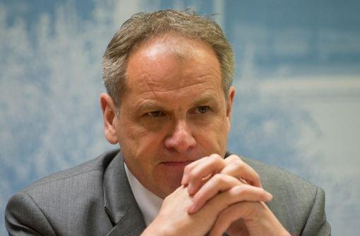 Innenminister Gall in Klinik untersucht