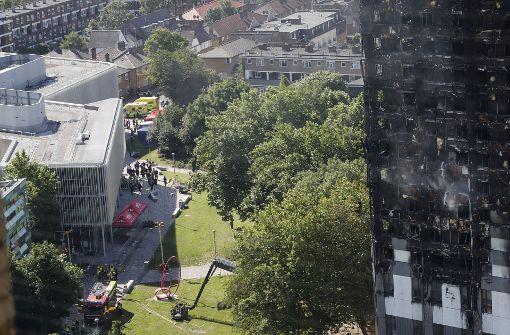 Bereits 58 Tote nach Hochhausbrand in London