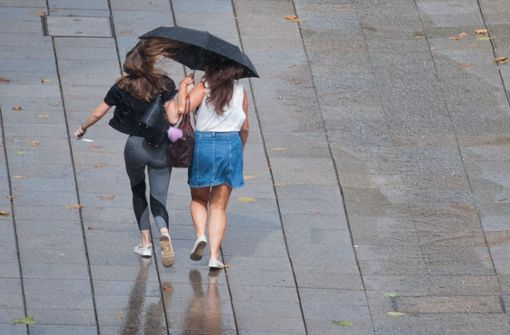 Es bleibt bewölkt und regnerisch