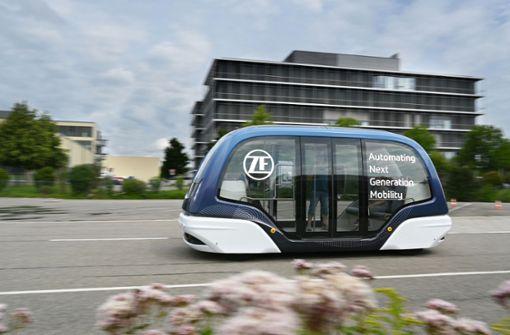 ZF liefert autonome Busse an DB Regio