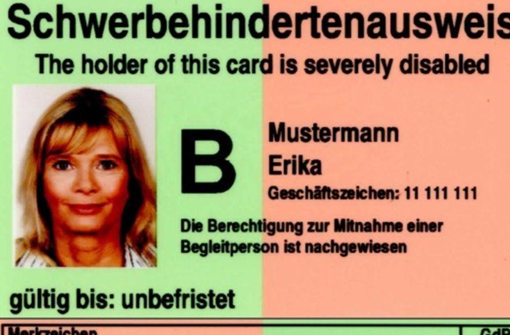 Den Schwerbehindertenausweis erhält man ab einem Grad der Behinderung von 50. Foto: BMAS