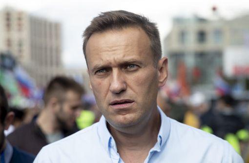 Alexej Nawalny laut Sprecherin vergiftet