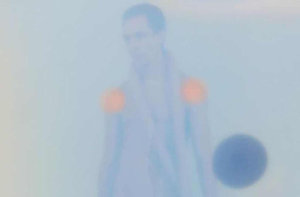 "Selbstbildnis hinter Silikon: ""Liquid Skin"" heißt Lempertz' Schau. Foto: Thomas Lempertz"