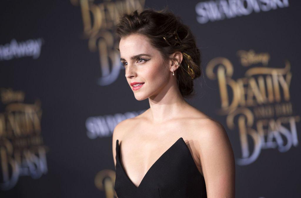 Nach heftigen Diskussionen im Netz über ihre freizügigen Fotos äußert sich Emma Watson in einem Interview zu den Vorwürfen. Foto: AFP