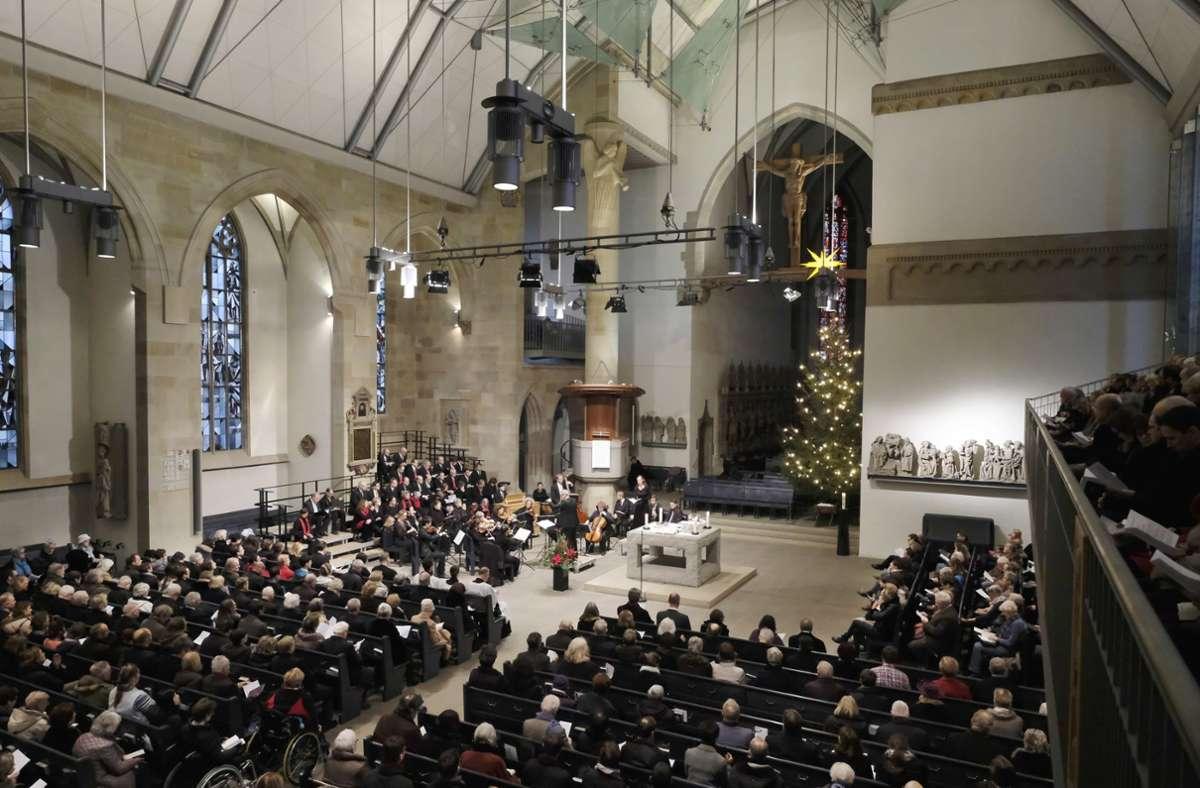 Weihnachten in der Stuttgarter Stiftskirche. So wird es in diesem Jahr dort nicht aussehen. Foto: Lichtgut/Michael Latz