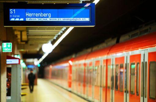 Bis zu 90 Prozent weniger Bahn-Fahrgäste