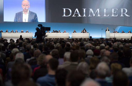 Daimler-Aktionäre treiben Diesel-Sorgen um