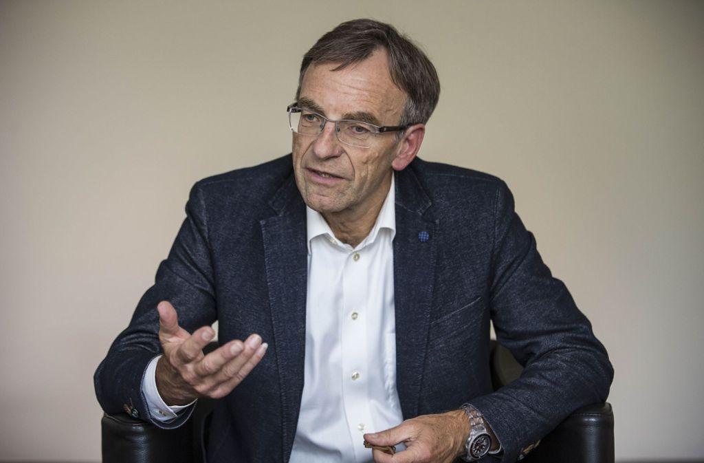Am 14. August wird Werner Wölfle nach turbulenten Diskussionen über seine Rolle in der Klinikumsaffäre in den Ruhestand gehen. Foto: Lichtgut/Leif Piechowski
