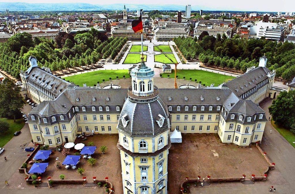 Auch Karlsruhe hat ein Schloss. Foto: dpa