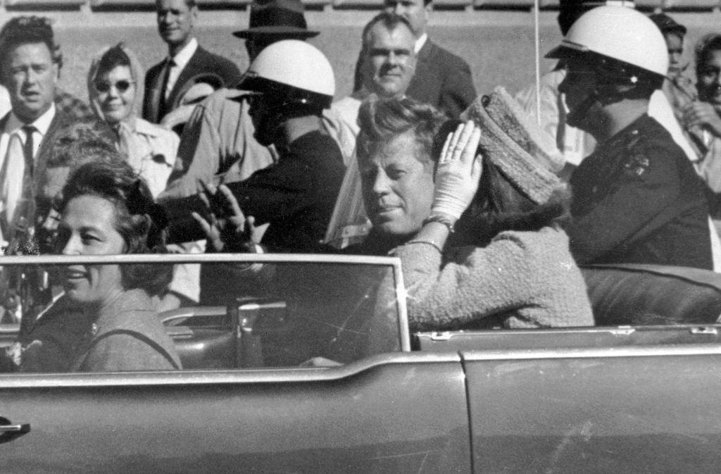 Akten über John F. Kennedys Ermordung sollen bald öffentlich gemacht werden. Foto: AP