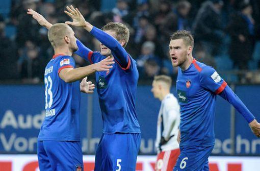 Heidenheim verdrängt den VfB Stuttgart