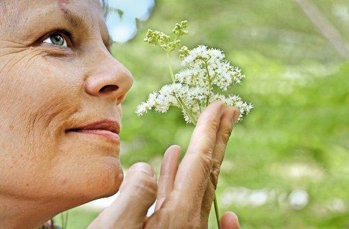 Die Botanikerin Christine Volm findet ihr Essen   auf der Wiese. Foto: factum/Granville