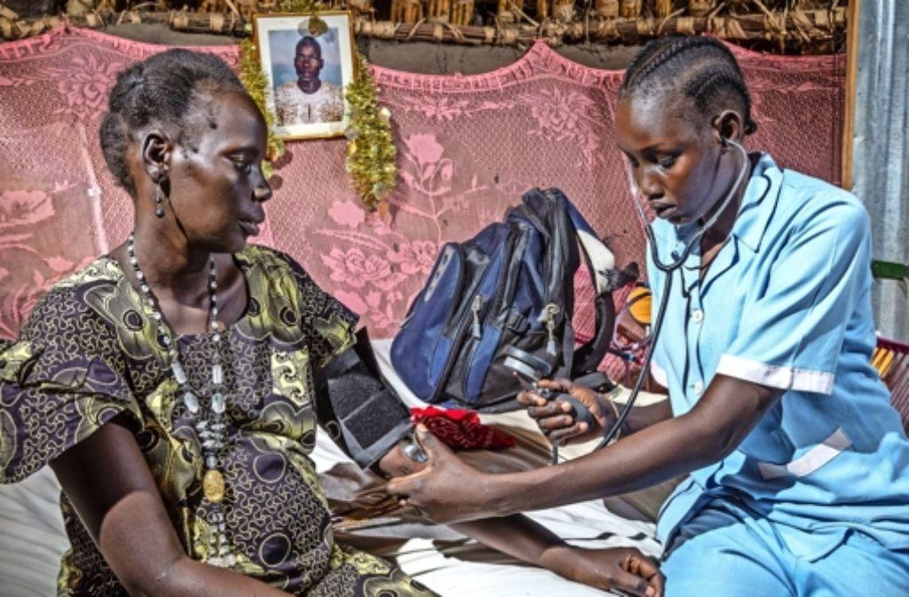 Die Gläubigen in Sillenbuch haben einiges erfahren über den Südsudan und die humanitäre Krise, die in dem  jüngsten Land der Welt  Folge des Bürgerkriegs ist. Foto: privat