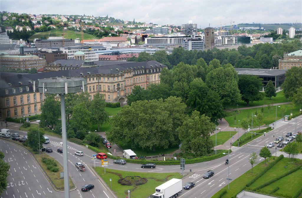 Eine autofreie Innenstadt in Stuttgart? Momentan noch eine Wunschvorstellung. Foto:
