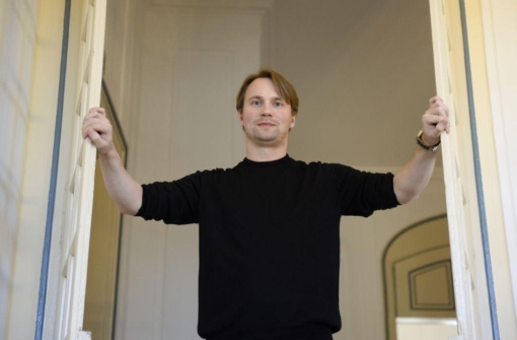 Pietari Inkinen ist seit 2015 Chefdirigent der Schlossfestspiele. Foto: dpa