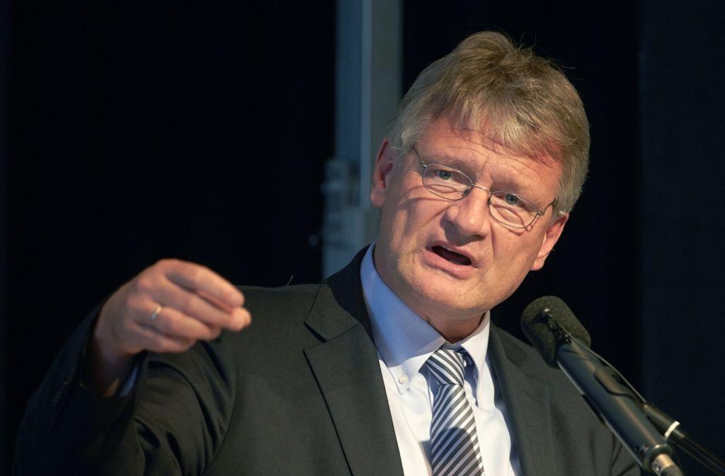 Järg Meuthen ist der bisherige AfD-Fraktionschef. Foto: dpa