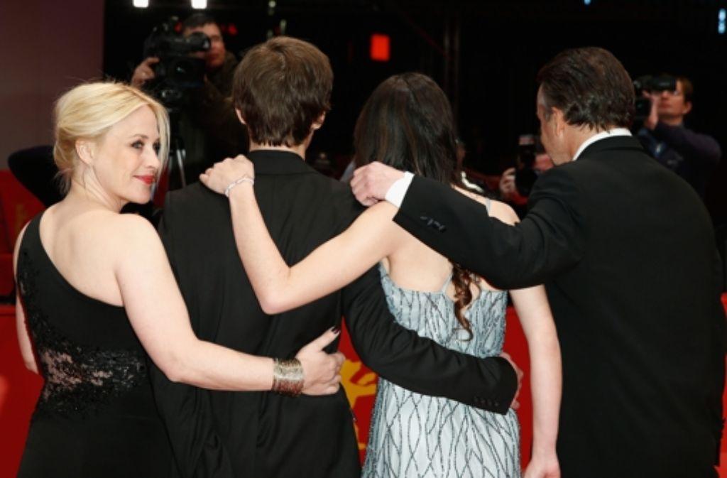 Boyhood heißt der neue Film von Patricia Arquette, den sie auf der Berlinale vorstellte. Foto: Getty Images Europe