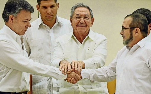 Kolumbien steuert auf Frieden zu
