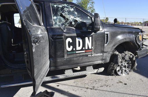 20 Tote bei stundenlanger Schießerei in Mexiko