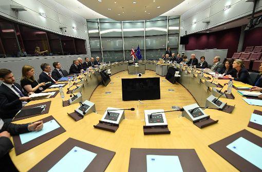 Brexit-Gespräche offiziell gestartet