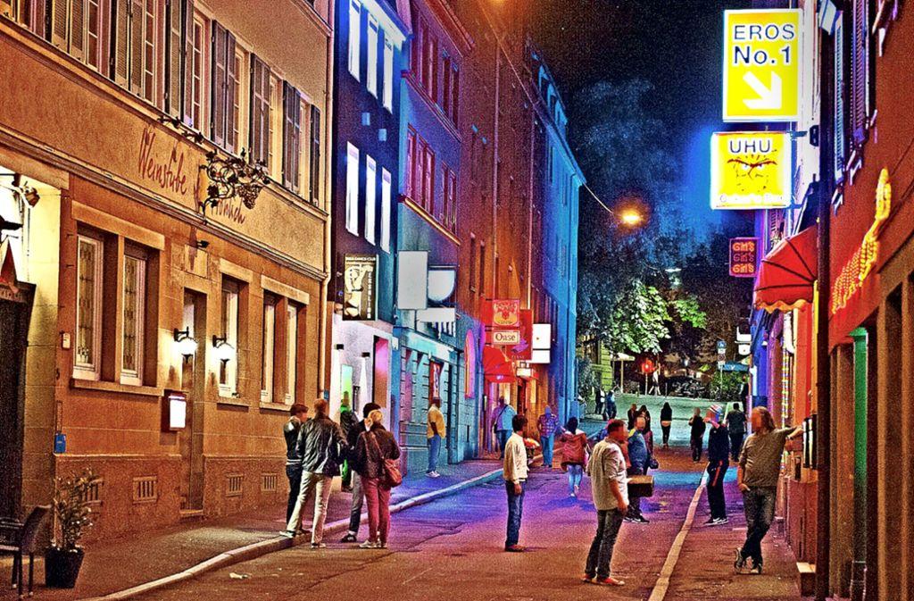 Im Stuttgarter Rotlichtviertel hat es einen 80-jährigen Freier erwischt. Foto: Lichtgut /Oliver Willikonsky