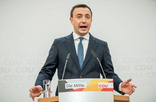 Ein weiterer Nackenschlag für die CDU