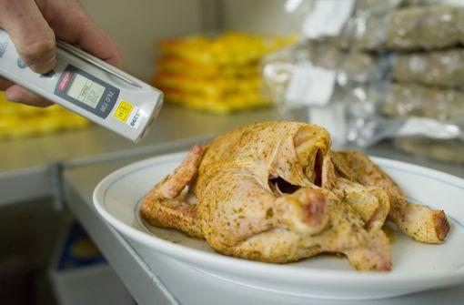 Hähnchenfleisch aus Supermärkten zurückgerufen