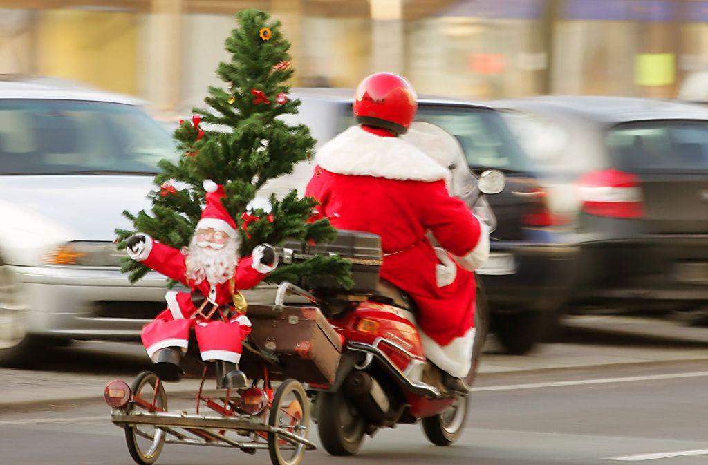 Der Advent hat Stuttgart voll erfasst und mit ihm auch die Suche nach dem passenden Geschenk. Foto: dpa-Zentralbild