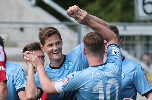 Stuttgarter Kickers steigen in Fußball-Oberliga ab