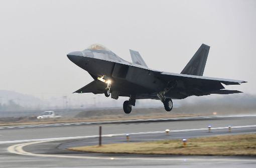 Südkorea und USA beginnen bisher größte Luftwaffenübung