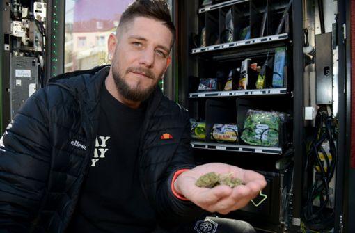 Legales Cannabis auf Knopfdruck