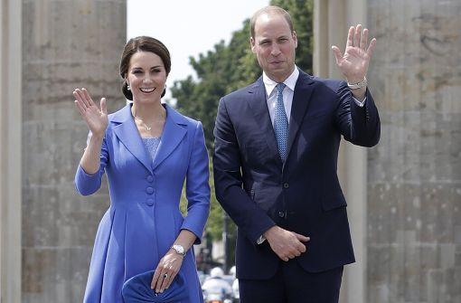 Tausende Besucher umjubeln Kate und William