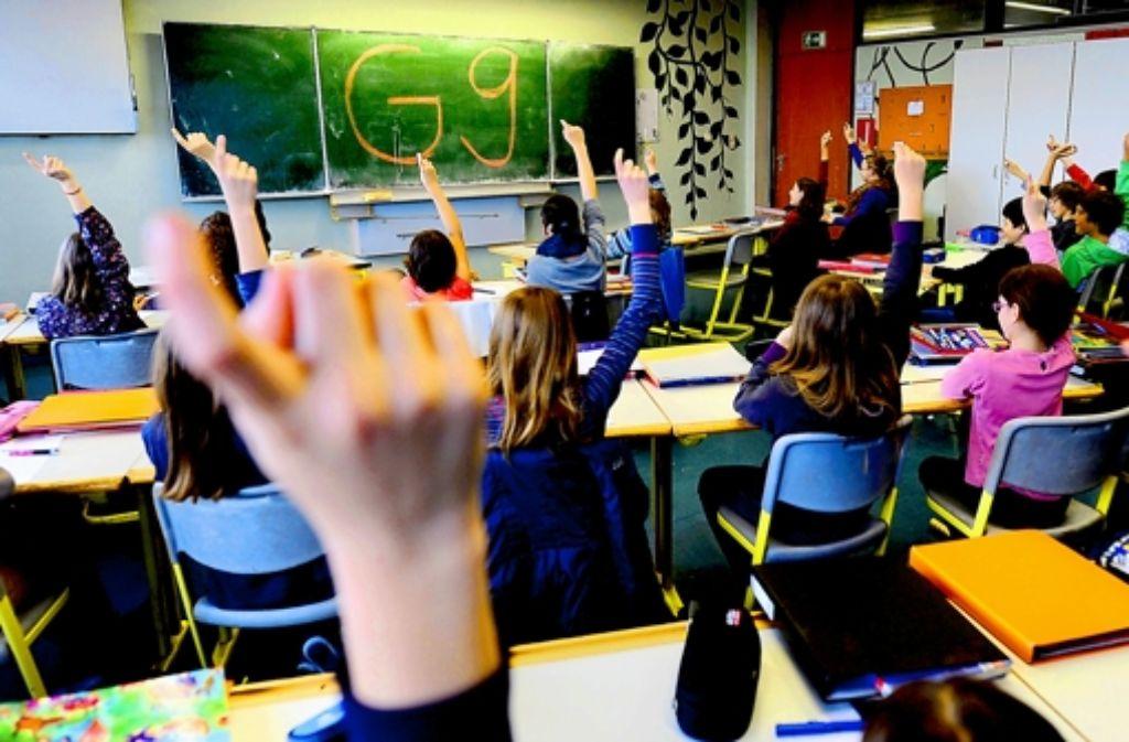 Nicht alle, die sich gemeldet haben, dürfen neunjährige Gymnasialzüge einrichten. Foto: dpa