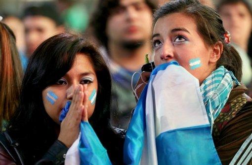 Argentinien weint nach WM-Finale