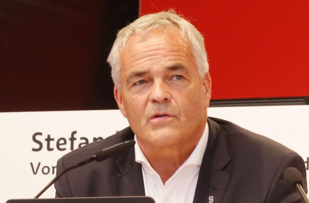 Wolf-Dietrich Erhard ist Vorsitzender des Vereinsbeirats des VfB Stuttgart. Foto: Baumann